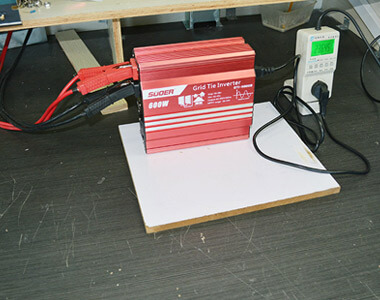 Suoer Grid-connected Photovoltaic Inverter (GTI-H300W/600W/1000W)
