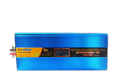 24V 220V 1000W photovoltaic hybrid solar power inverter with mppt charge controller