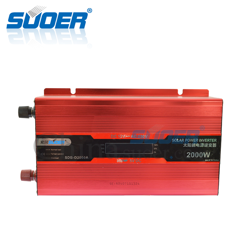2000W 12V 220V Intelligent Power Inverter