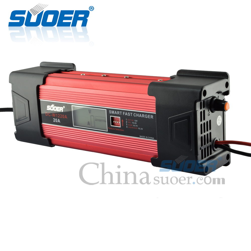 dc w1220a agm gel battery charger foshan suoer. Black Bedroom Furniture Sets. Home Design Ideas